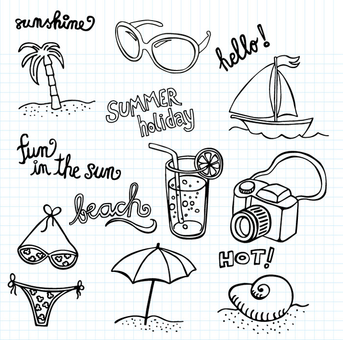 bijna zomervakantie inkie