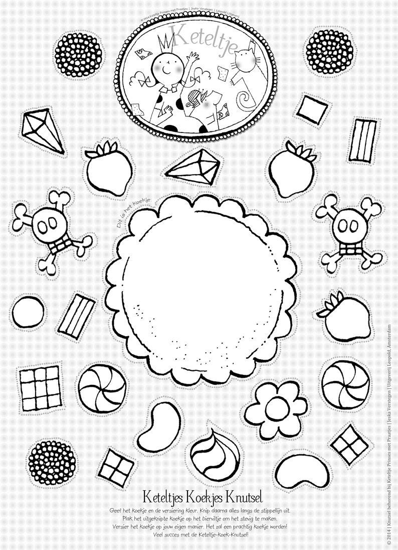 Kleurplaat Verjaardagstaart 6 Jaar Inkie Een Teken En Tijdschrift Voor Eigenwijze Meiden